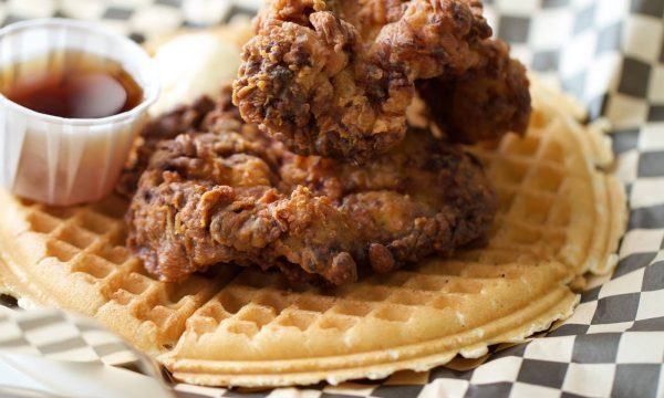 Chicken-waffle