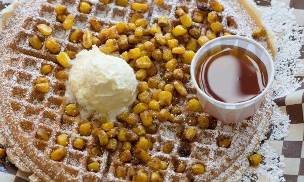 Corn-waffle